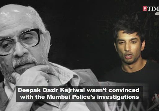 SSR Case Update: SSR death not a suicide but 'homicide' claims Deepak Qazir Kejriwal