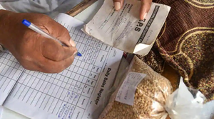 PM Modi announced extension of the  (PMGKAY), a free ration scheme, for 80 crore people across the country till end of November.(PTI)