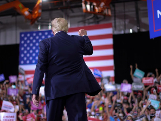 Trump holds campaign rally indoors despite coronavirus concerns & also claims to Negotiate 3rd term
