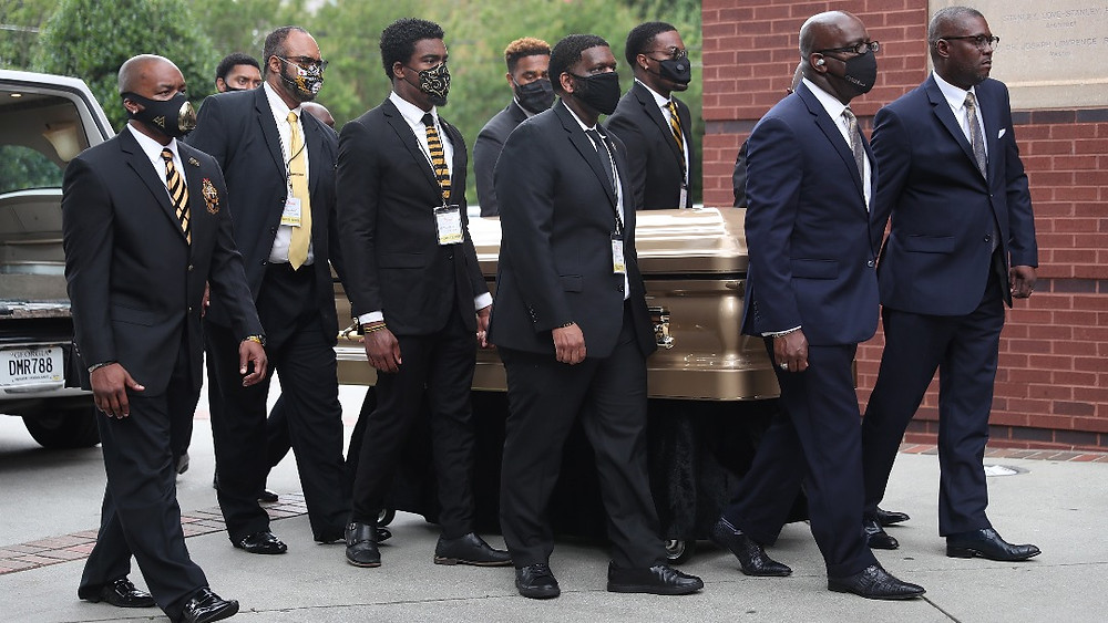 The funeral also took place at the church where Martin Luther King Jr. worshipped. Brooks will be buried in Atlanta.