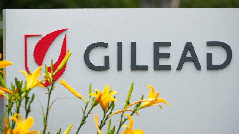 Gilead Sciences Inc pharmaceutical company is seen after they announced a Phase 3 Trial of the investigational antiviral drug Remdesivir in patients with severe coronavirus disease (COVID-19), during the outbreak of the coronavirus disease (COVID-19), in Oceanside, California, U.S.