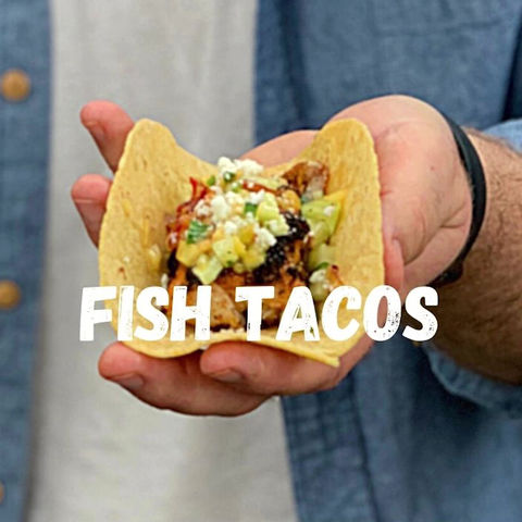 Grilled fish tacos with nectarine salsa