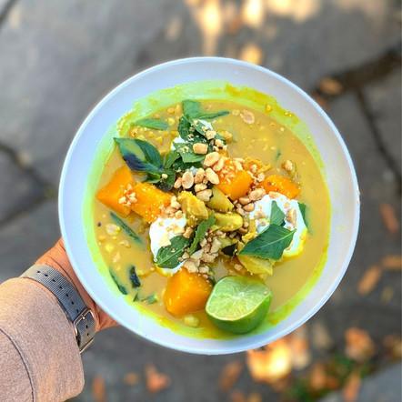 Coconut Chicken &              Autumn Squash Curry