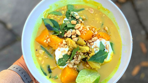 Coconut Chicken &              Autumn Squash Curry