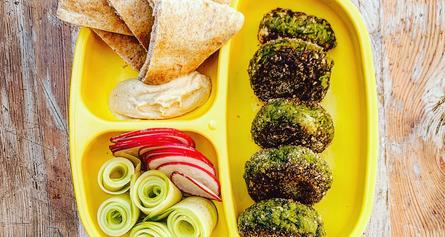 Edamame Falafel Lunchbox
