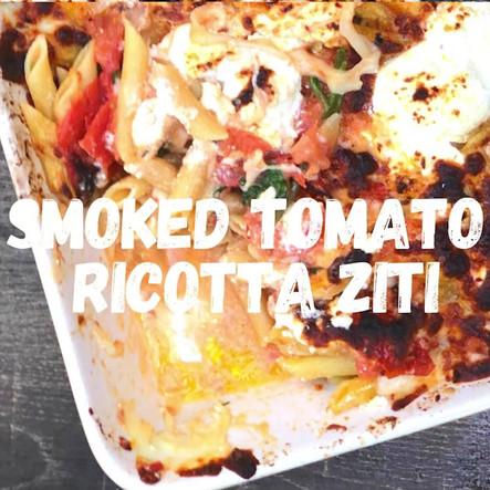 smoked tomato ricotta ziti