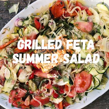 Grilled Feta Summer SAlad
