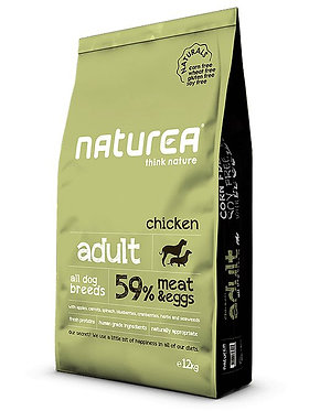 נטוראה עוף בוגר מזון לכלבים ללא דגנים