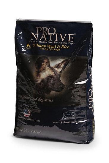 פרו נייטיב סלמון ואורז מזון יבש לכלבים