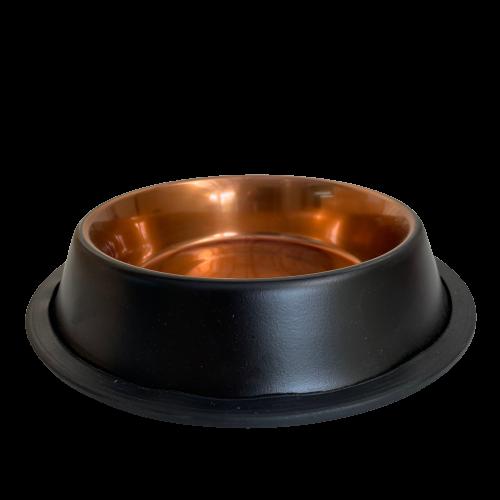 קערת נירוסטה עם גומי 0.70 ליטר