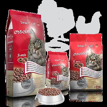 """בוויקט קרוקיניס מיקס 10 ק""""ג מזון פרימיום לחתולים"""