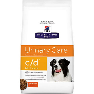 "c/d   Hill's Prescription Diet מולטיקייר לכלב, 12 ק""ג"
