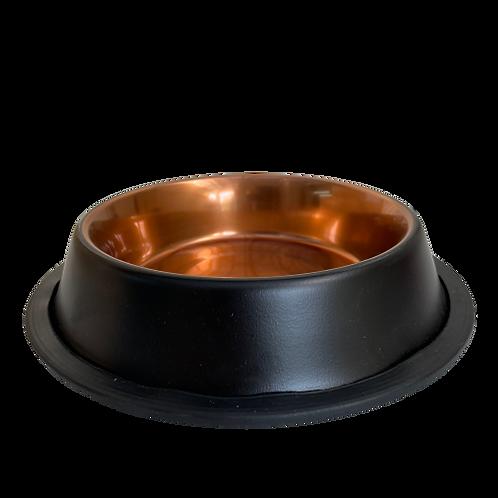 קערת נירוסטה עם גומי 0.25 ליטר