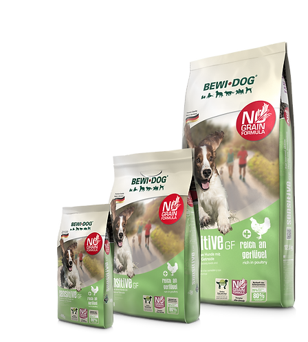 בווי דוג סנסטיב ללא דגנים עוף מזון יבש לכלבים