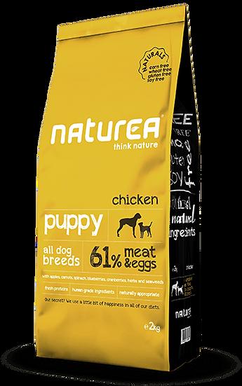 נטוראה עוף גורים מזון לכלבים ללא דגנים