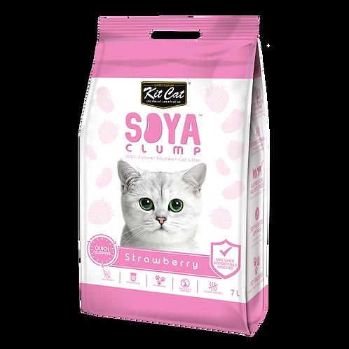 חול חתולים סויה בניחוח תות שדה