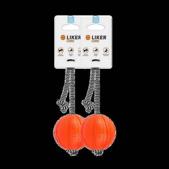 LIKER 7 כדור עם חוט לכלבים מגזעים בינוניים