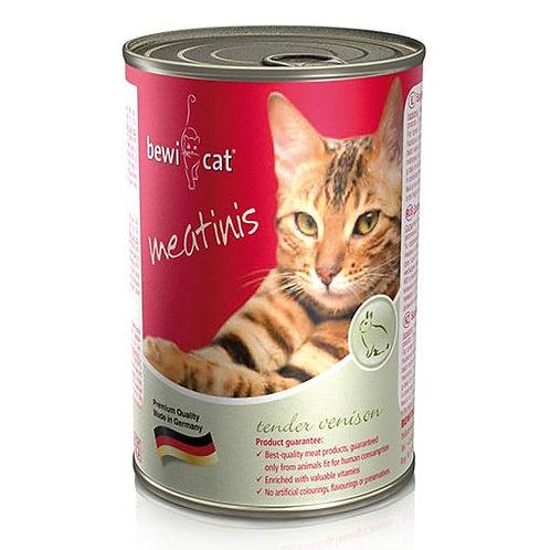 שימורי מזון חתולים Bewi Cat- ציד 400 גרם