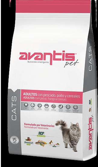 אוונטיס בוגר 2 ק״ג מזון חתולים