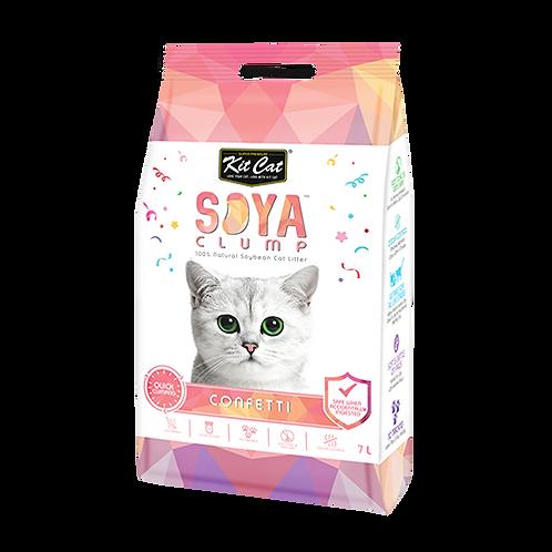 חול חתולים סויה בניחוח קונפטי