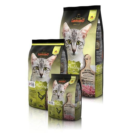"""לאונרדו גריין פרי עוף 7.5 ק""""ג מזון חתולים אולטרה פרימיום"""