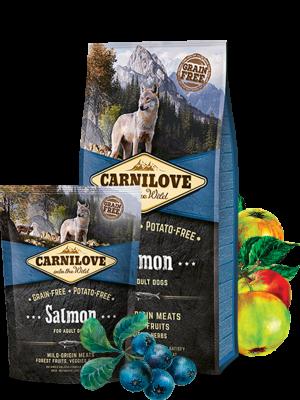 קרנילאב סלמון מזון לכלבים