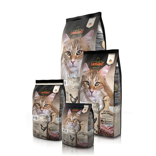 """לאונרדו מקסי גריין פרי 7.5 ק""""ג מזון חתולים אולטרה פרימיום"""