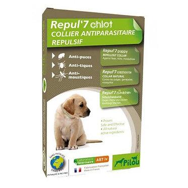 AB7 קולר פרעושים וקרציות לגורים וכלבים קטנים