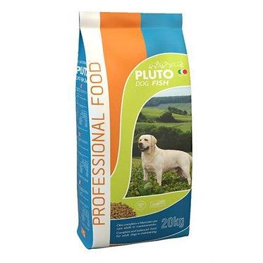 פלוטו פלוס דגים 20 ק״ג מזון יבש לכלבים