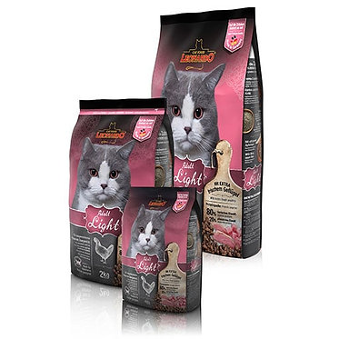 """לאונרדו לייט עוף 7.5 ק""""ג מזון חתולים אולטרה פרימיום"""