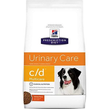 "c/d | Hill's Prescription Diet מולטיקייר לכלב, 5 ק""ג"