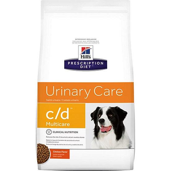 "c/d | Hill's Prescription Diet מולטיקייר לכלב, 12 ק""ג"