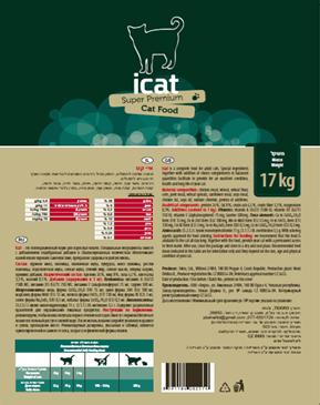 איי קט חתול 17 ק״ג