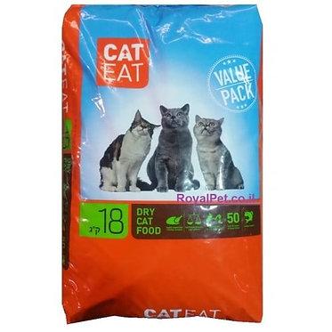 """קט איט 18 ק""""ג מזון לחתולי רחוב"""