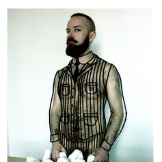 Outline Vest with White Wall