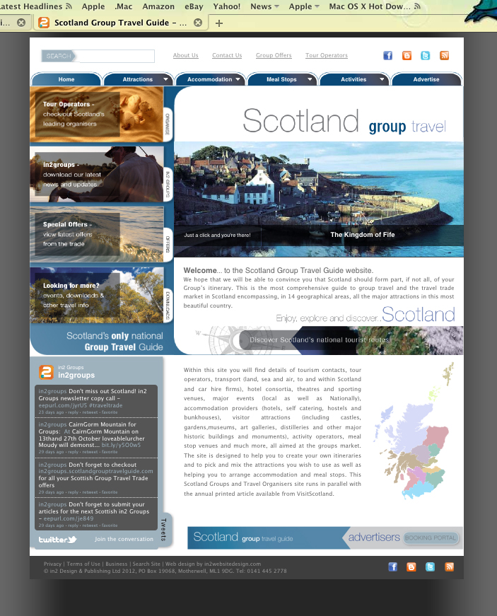 Scotland Group Travel