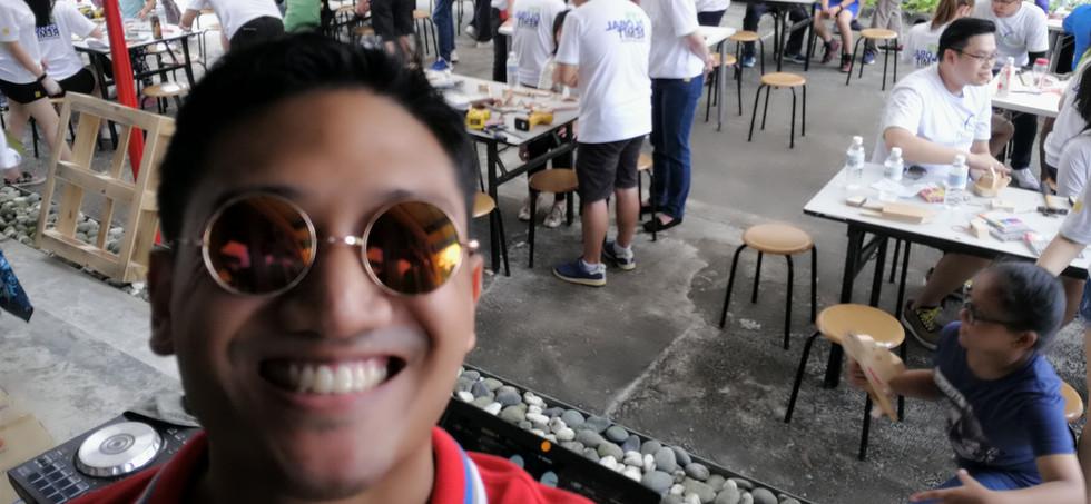 Team building Singapore Emcee Ram