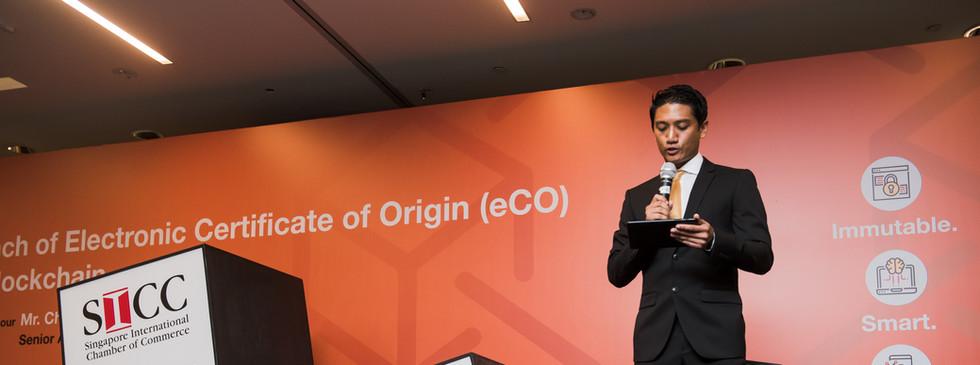 product launch Singapore Emcee Ram