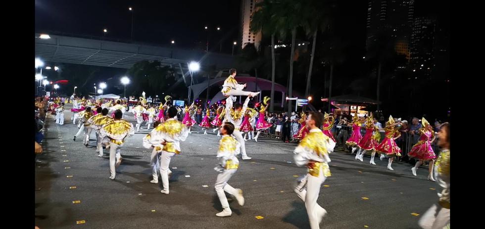 Chingay 2017 & 2020 Singapore emcee ram