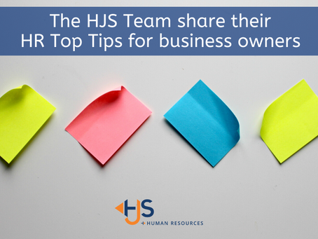 HR Top Tips for Business Owners
