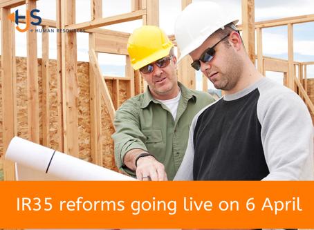 IR35 reforms going live on 6 April