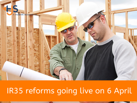IR35 reforms going live on 6 April