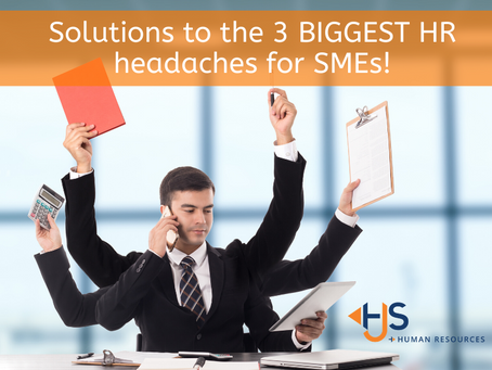 Solutions to the Top 3 HR headaches!