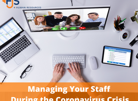 Managing Your Staff During the Coronavirus Crisis - Webinar recording