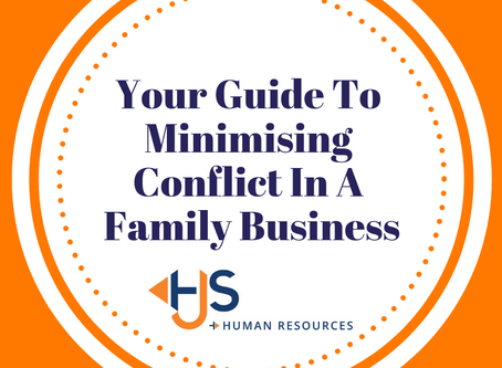 Your guide to minimising conflict in a family business