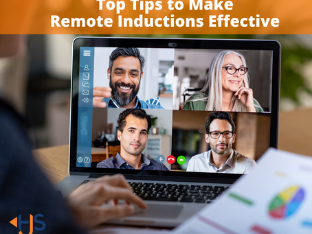 Top Tips to Make Remote Inductions Effective