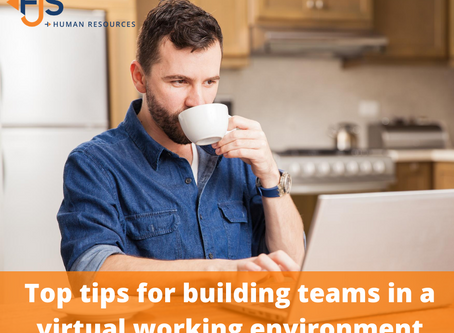 Top tips for building teams in a virtual working environment