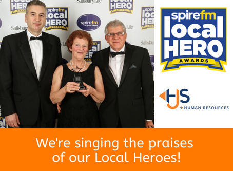 We're singing the praises of our Local Heroes!