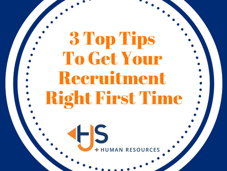 Get Your Recruitment Right First Time