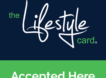 We've joined The Lifestyle Card!
